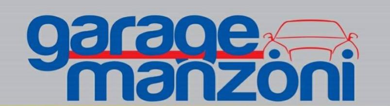 logo del garage manzoni a napoli